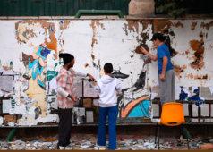 שיח גלריה עם האמנים גיא ברילר ויובל יאירי מקבוצת מוסללה והרשות העצמית