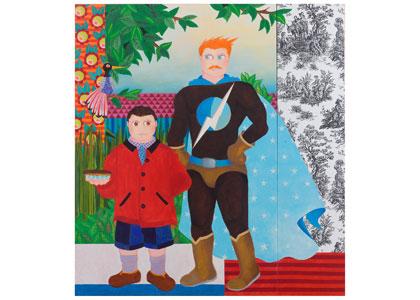 שיח גלריה עם האמן אליהו אריק בוקובזה והאוצרת דרורית גור אריה