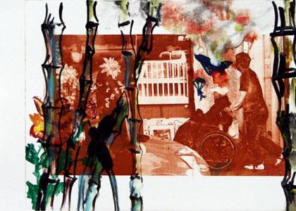 שיח גלריה עם האמנים גיל ומוטי ואוצרת התערוכה דרורית גור אריה