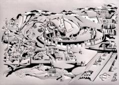 שיח גלריה עם אוצרת התערוכה עירית פופר כרמון והאמן פלג דישון