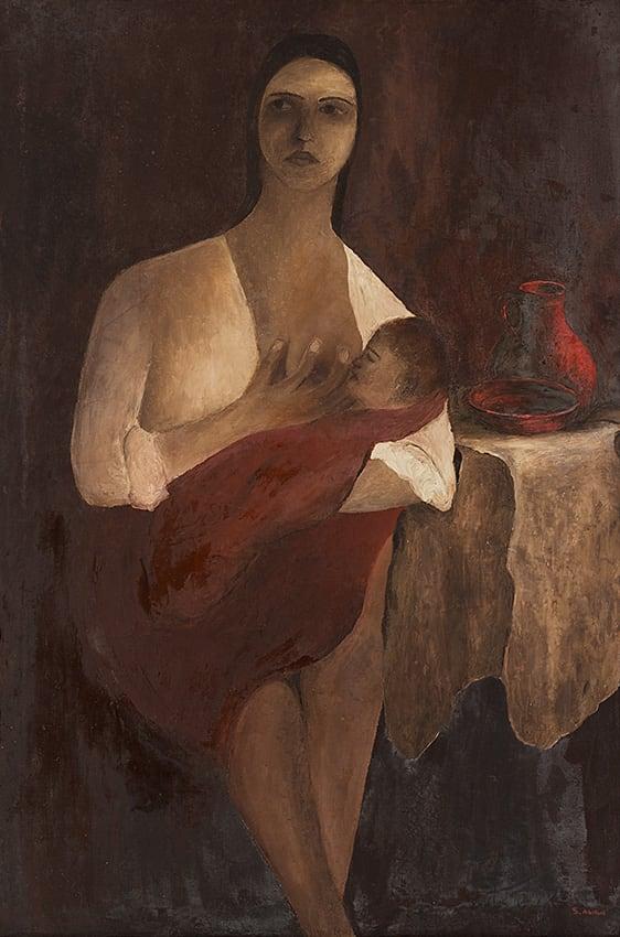 ציור מאוסף המוזיאון