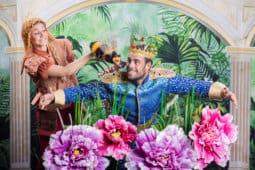 קטנטנים במוזיאון-רצועה להורים וילדים בימי שבת בבוקר: מלך הטבע