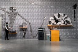 שיח גלריה עם האמניות לוסיאנה קפלון ורותי דה פריס ועם אוצרת התערוכה אור תשובה